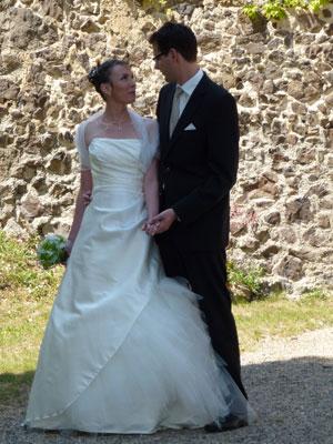 Robe de mariée Roseglantine