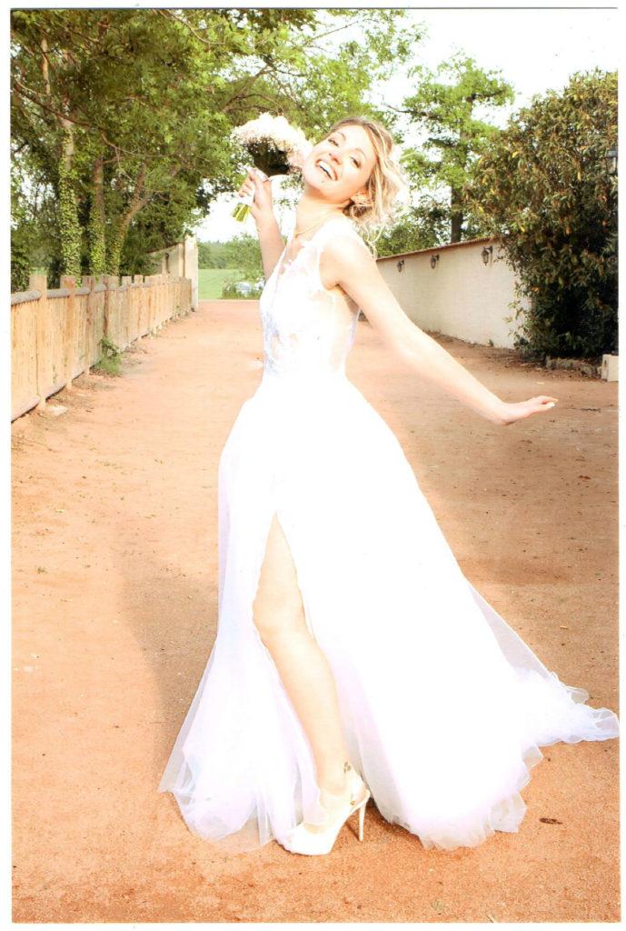 Robe de mariée sur mesures 42