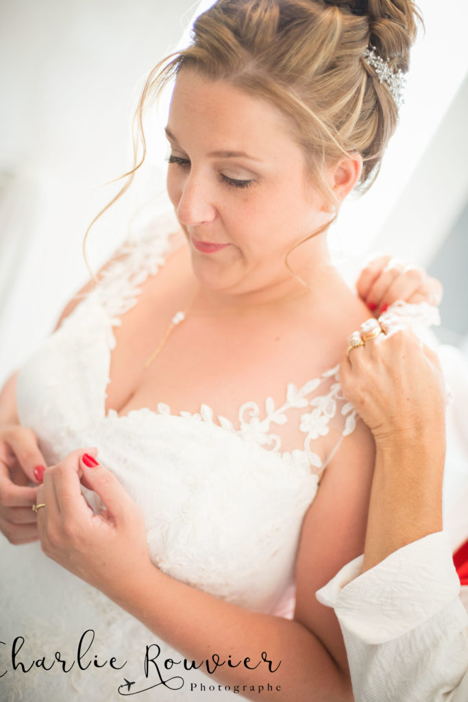 Robe de mariée sur mesure Roseglantine