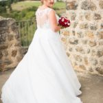 Robe de mariées sur mesures Roseglantine