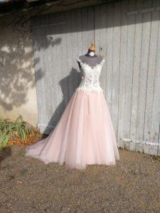 Robe de mariée sur mesure Saint-Etienne